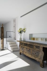 antique with modern
